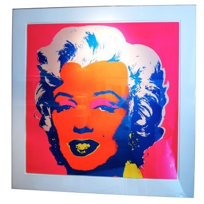 Marilyn Monroe screen print