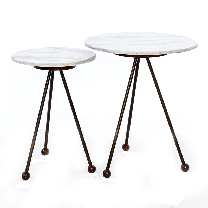Marble nest tables
