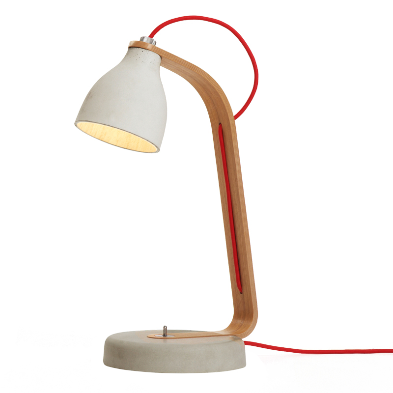 Heavy desk Lamp - White