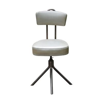 Industrial style swivel desk chair