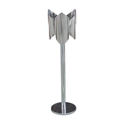 Italian chrome standing lamp