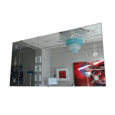 Large Italian sectional mirror