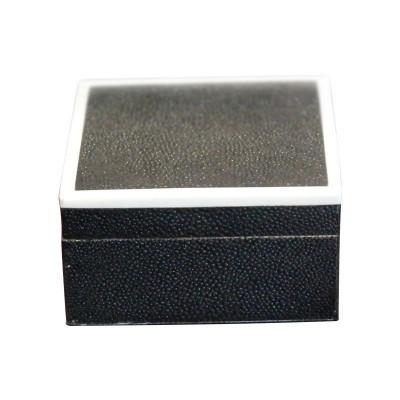 green and bone cufflink box