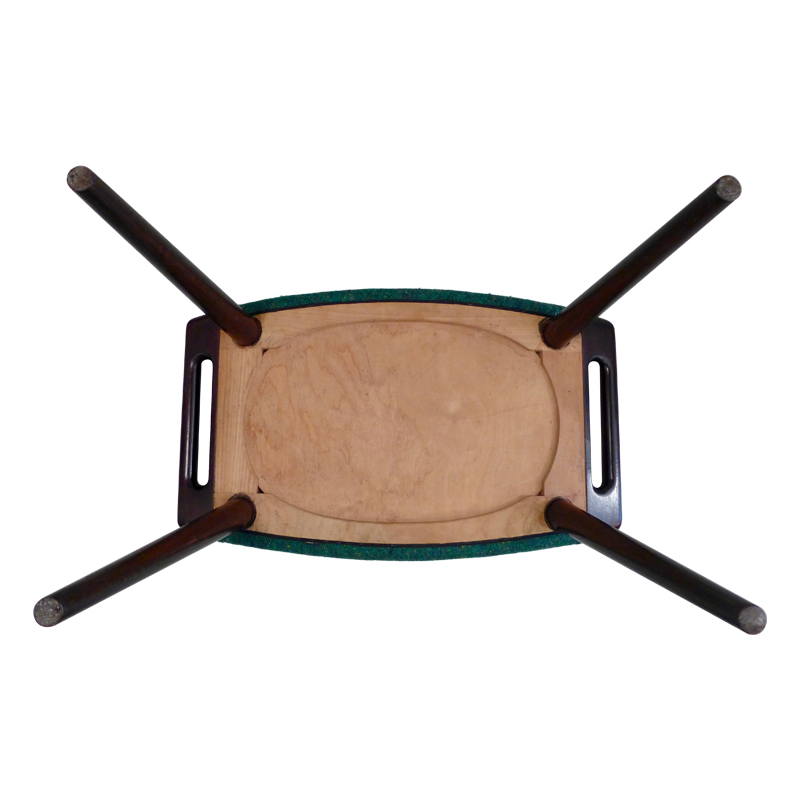 Papa Bear stool by Hans Wegner for A.P Stolen