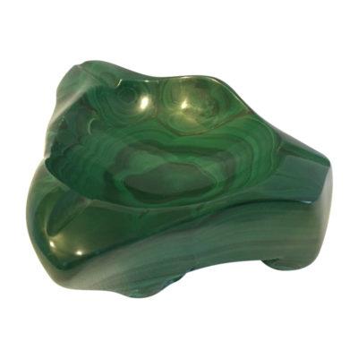 Malachite ashtray